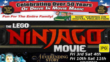 The Lego Ninjago Movie & ... logo